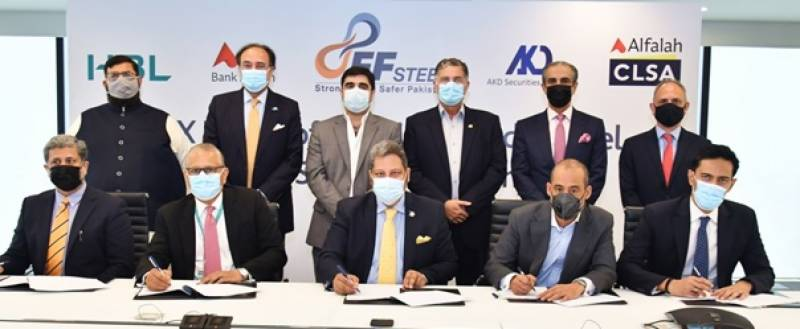 FF Steel holds signing ceremony to award mandate to list company on PSX