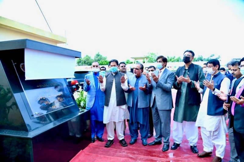 PM Imran breaks ground for KCR project in Karachi