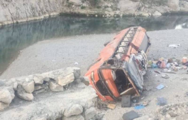 Five dead, 15 injured as van carrying mourners falls into Gilgit-Baltistan drain