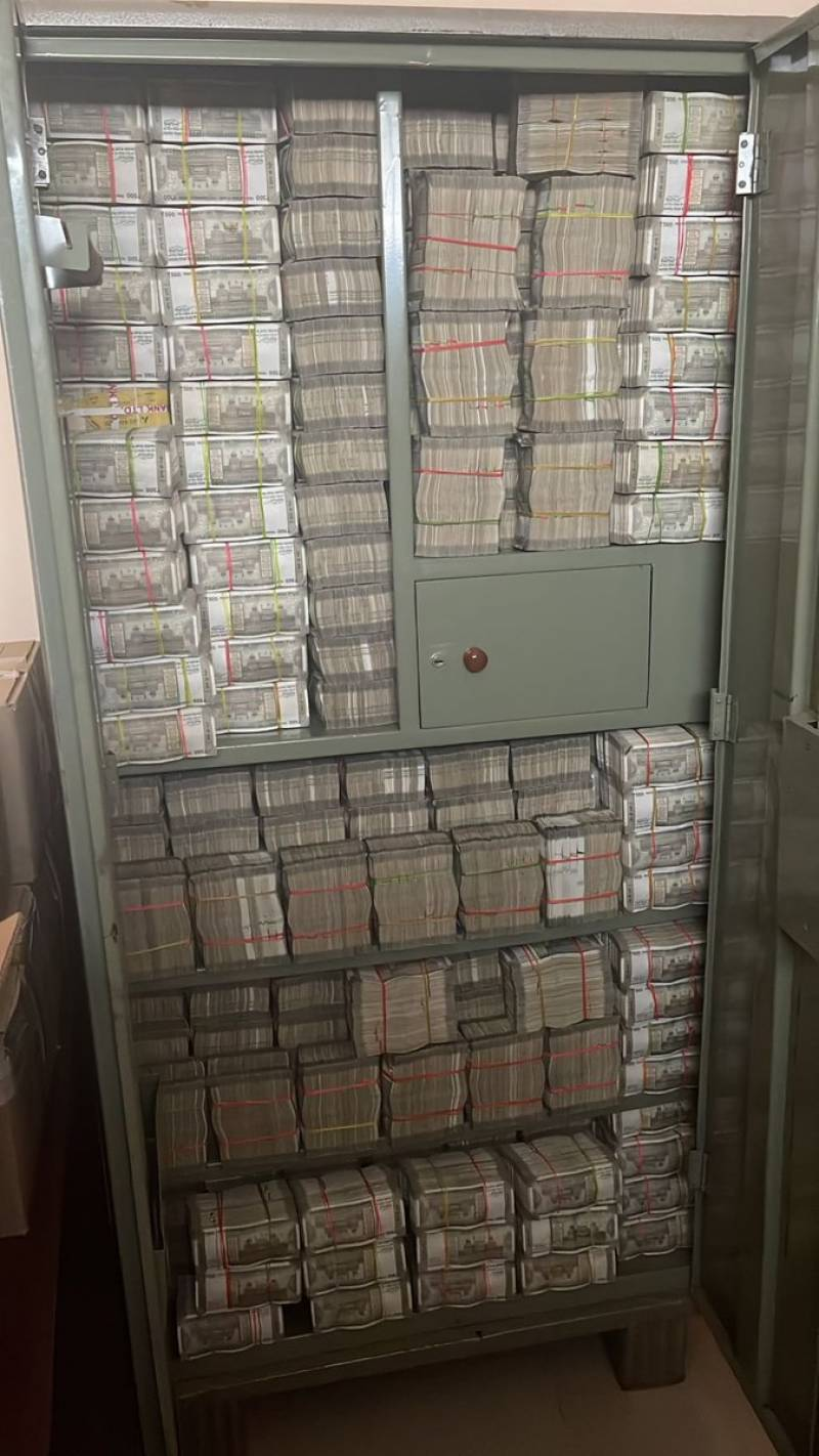 Millions of rupees found at Indian Covid drug maker's office during tax raid