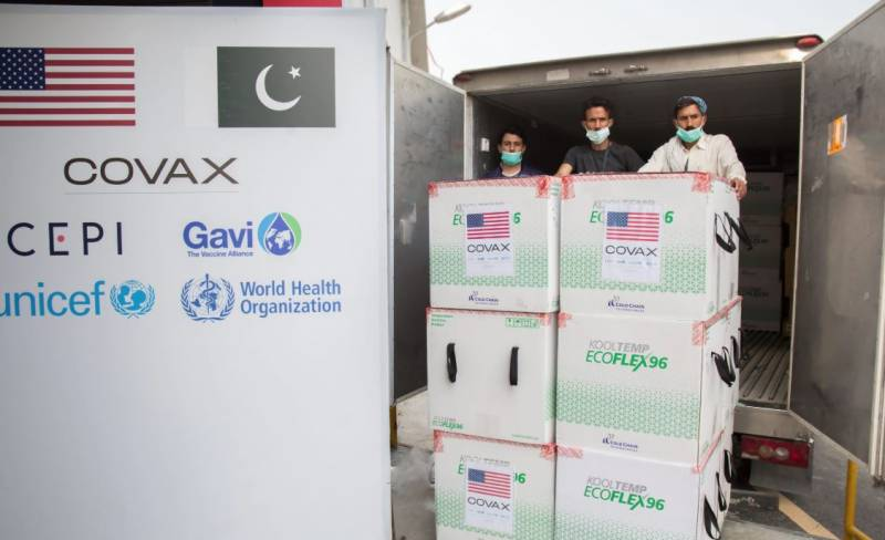 Pakistan set to receive 2.4mn Pfizer vaccine doses from US