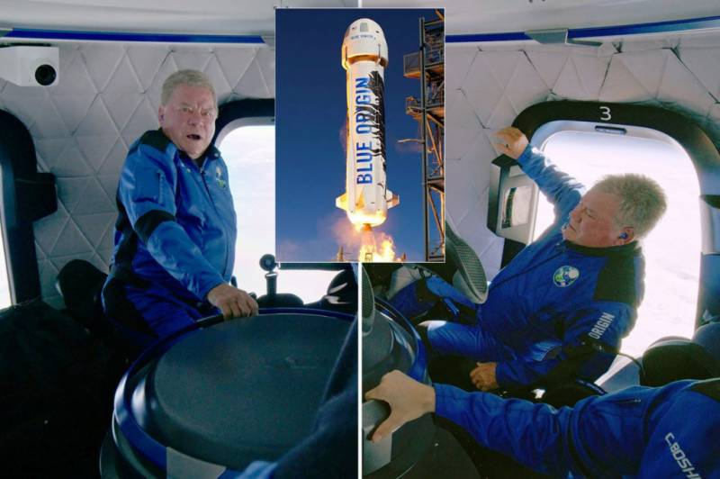 Star Trek's William Shatner, 90, becomes the oldest person to fly to space