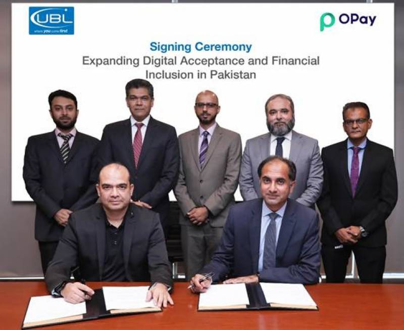 UBL, OPay collaborate on expanding Digital Acceptance and Financial Inclusion in Pakistan