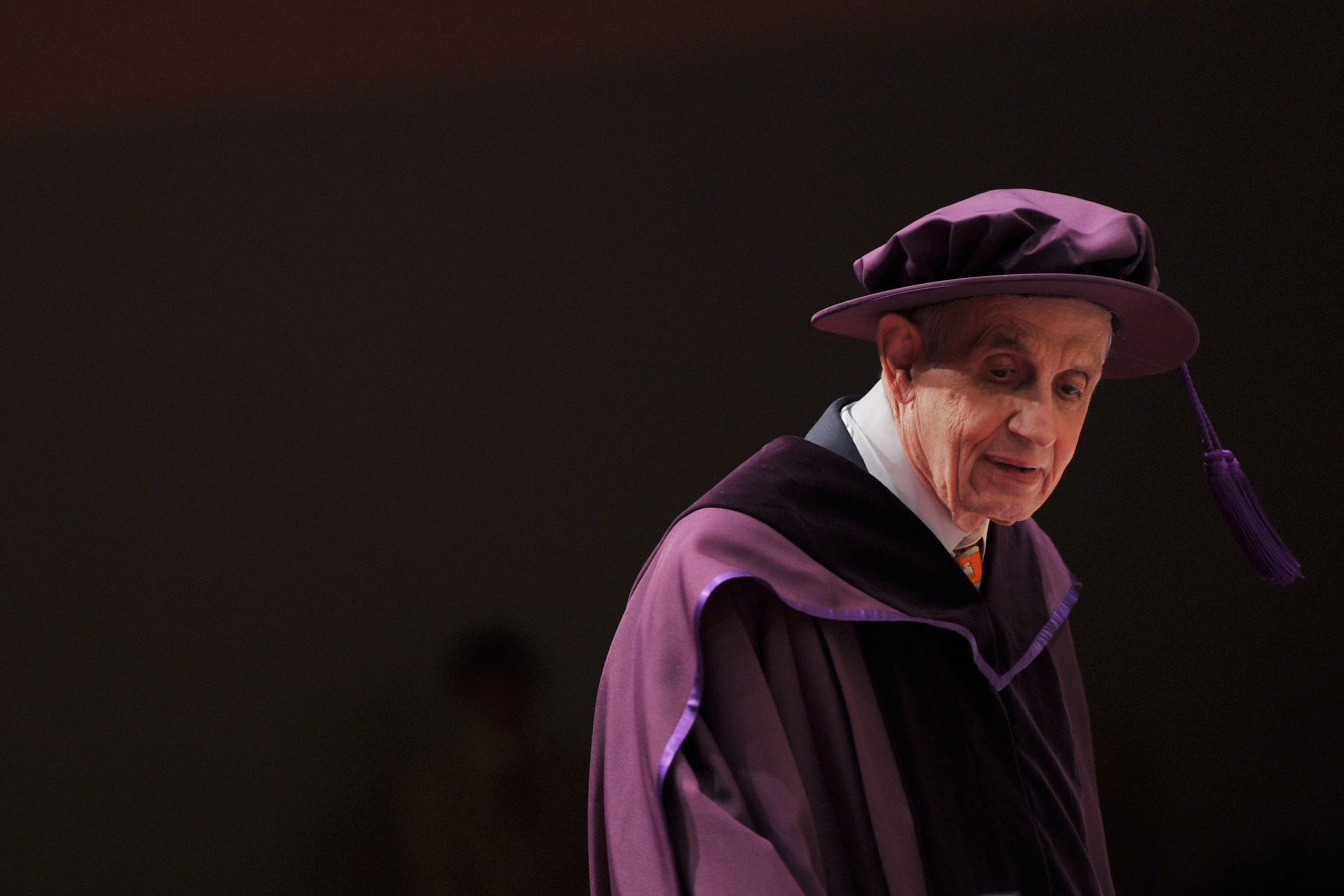 Professor John Forbes Nash, Jr, winner of the Nobel Prize in Economic Sciences, was conferred an honorary doctorate of science at the City University of Hong Kong on November 8, 2011. Professor Nash is best known for his discovery, the