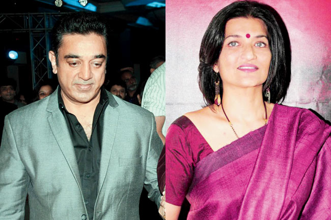 Sarika-Thakur-married-with-Kamal-Hassan-in-1988