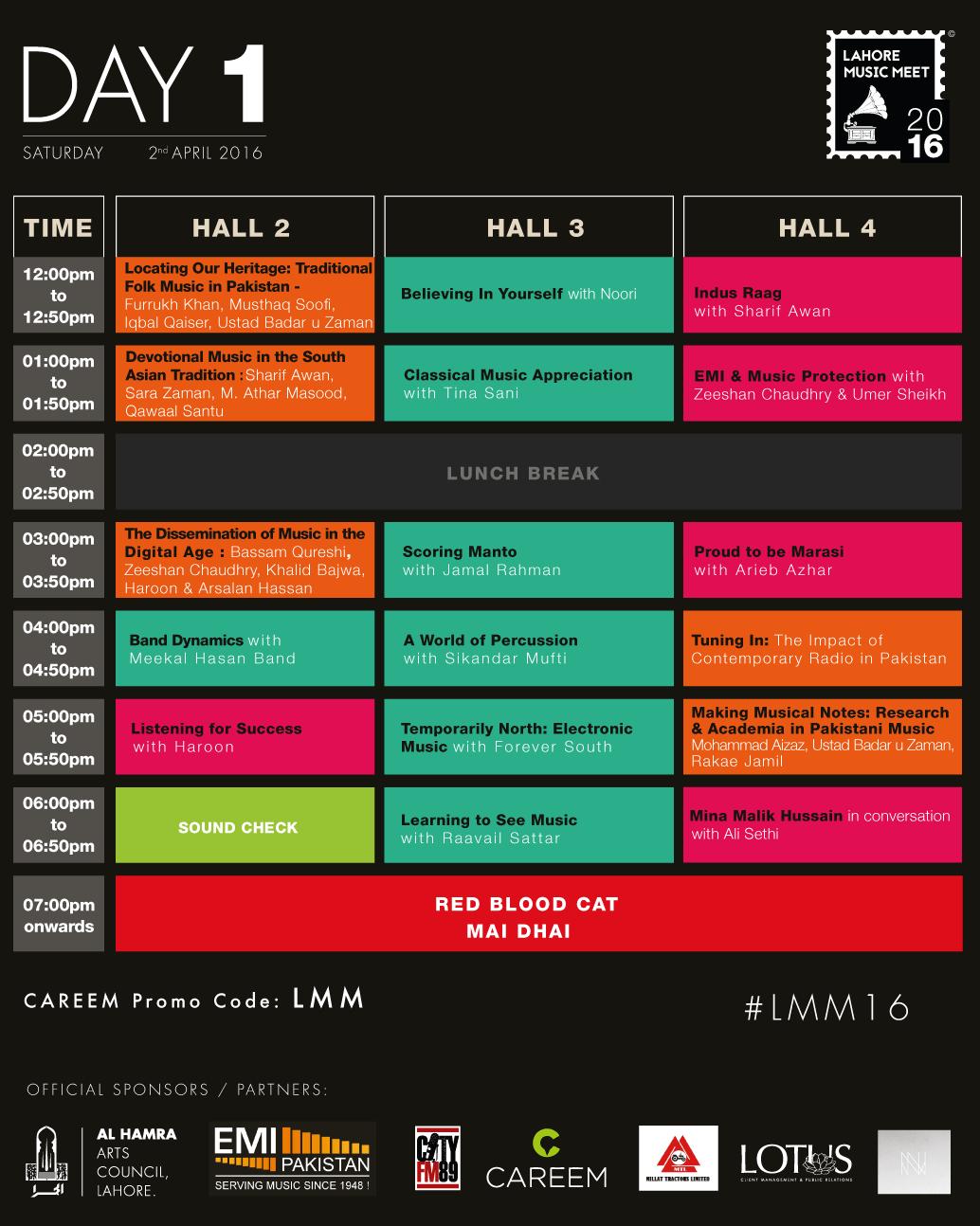 #LMM16 Schedule - Day-1 [F]