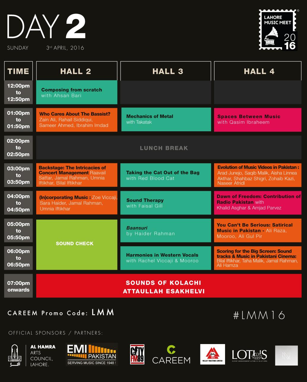 #LMM16 Schedule - Day-2 [F]