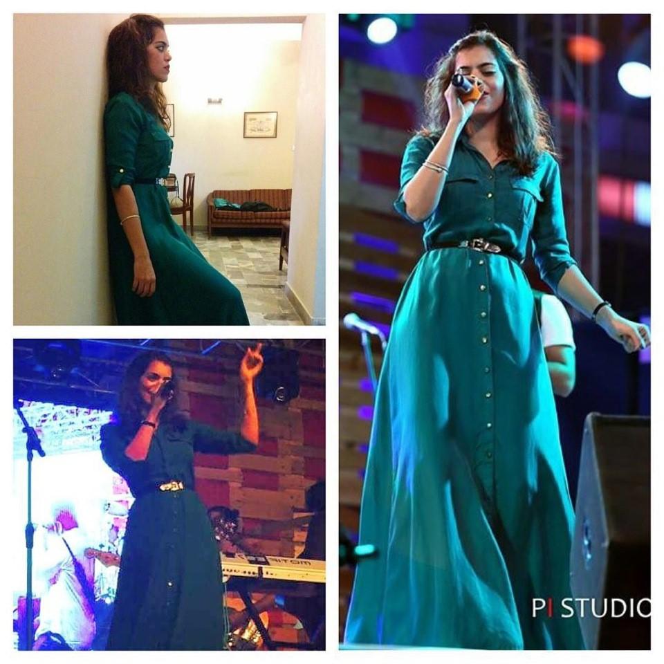 Sara Haider wearing Icon
