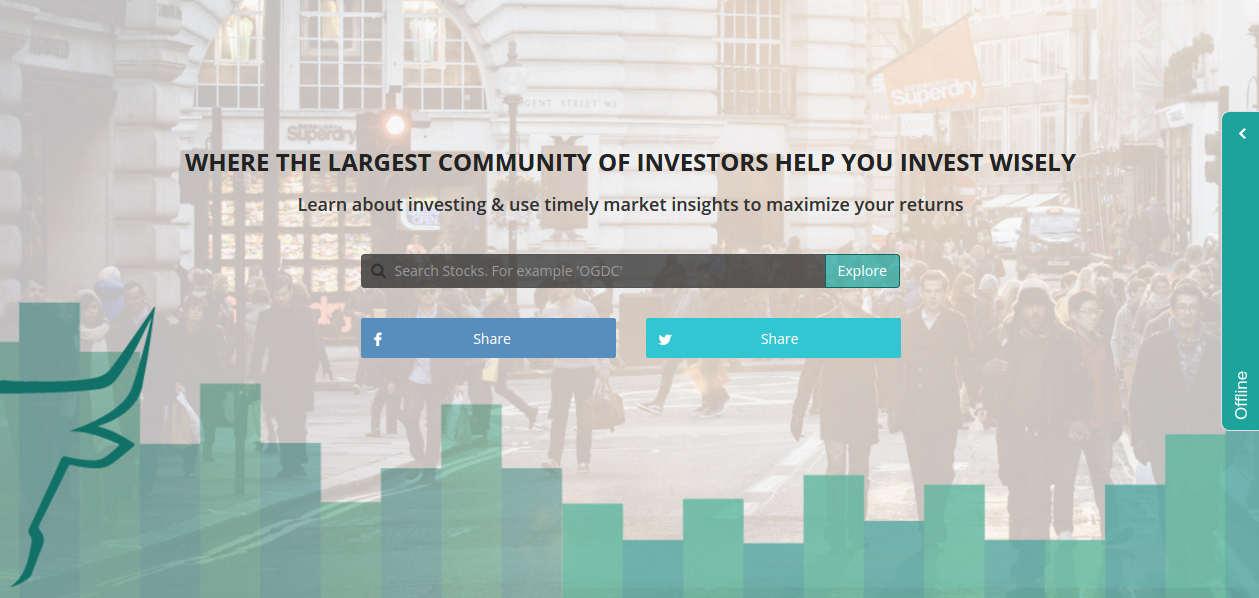 Pakistani startup http://investorslounge.com/