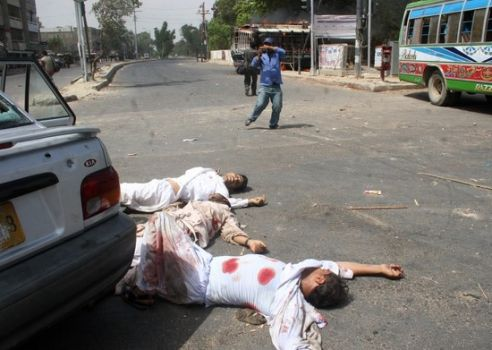 Lawyers and activists allegedly killed by Altaf Hussain's MQM on 12th May 2007