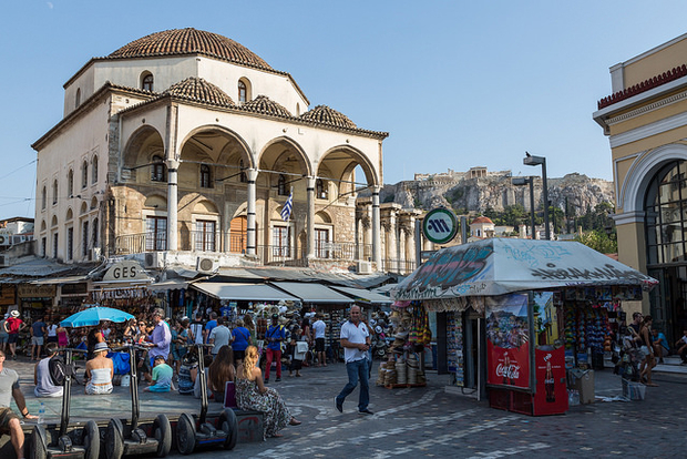 The Tzistarakis Mosque in the centre of Athens, in use until the end of Ottoman rule in 1832, was one of Athens' last official mosques.–Middle East Eye