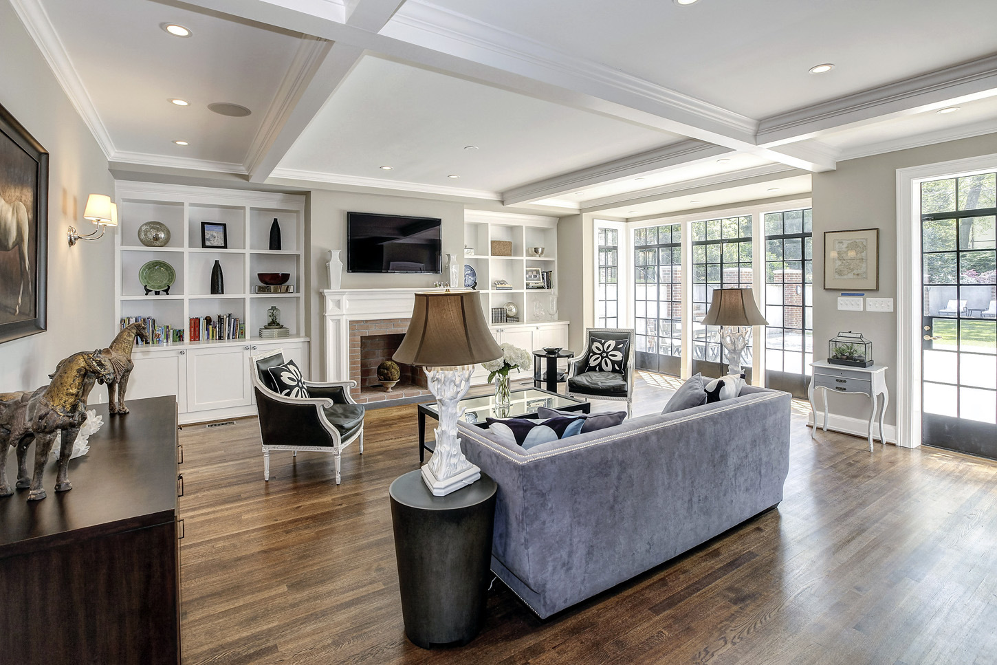 The Obama Family Will Live In a 9 Bedroom D.C. Mansion Credit: HomeVisit.com;