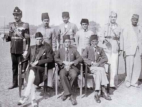 Quaid-e-Azam at the Muslim League Session, Patna 1938