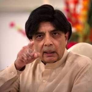 Interior Minister Chaudhry Nisar was often accused to being too close to the military