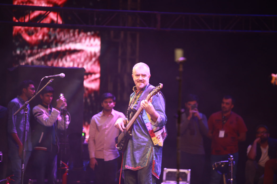 American Bassist, Brian O Connell, has been an integral part of Junoon and Pakistan's music history